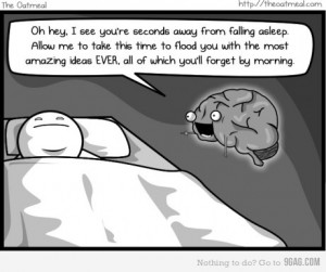 Smegenys, nenervinkit, ką...